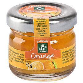 Confiture d orange 24 x 30 g gilbert stick a l unite dosette individuelle