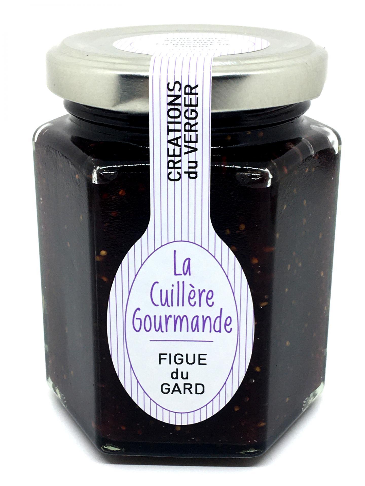 Confiture de figue du gard 225g la cuillere gourmande