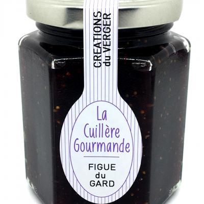 Confiture de Figue du Gard 225g La cuillère Gourmande