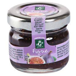 Confiture de figues 24 x 30 g gilbert 1