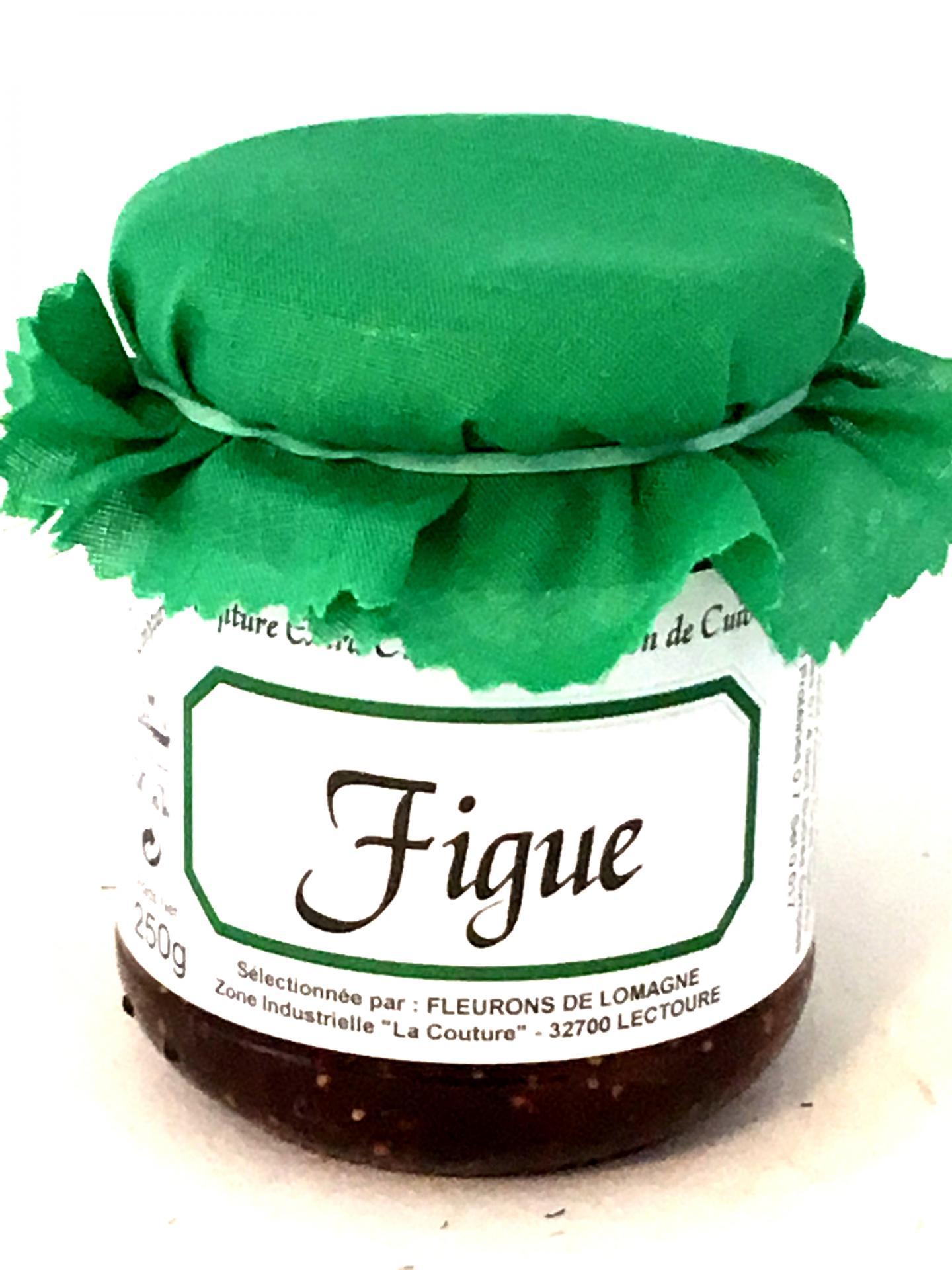 Confiture de figues 250g bocal 1