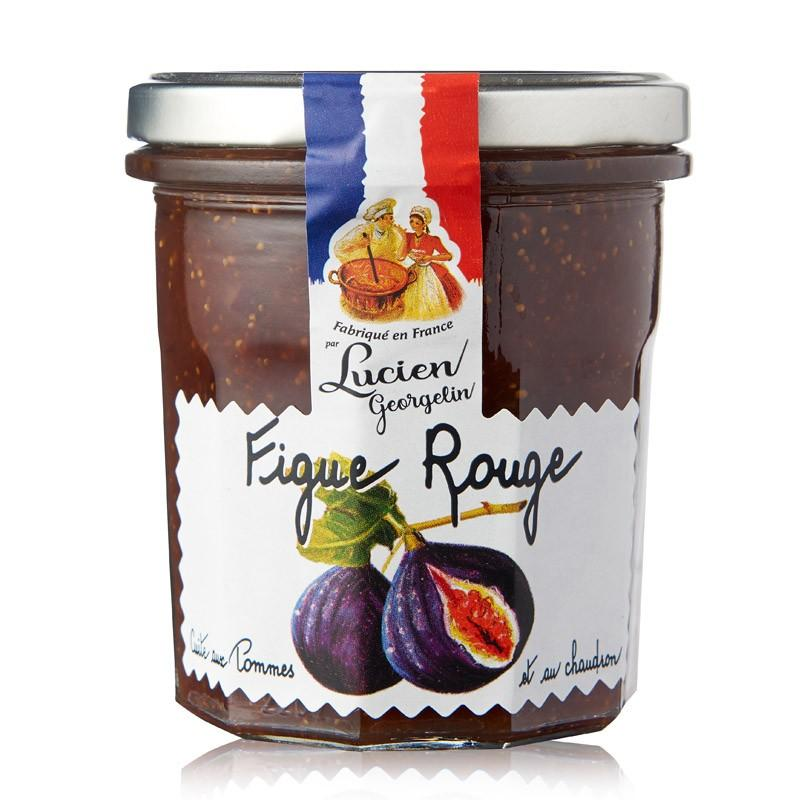 Confiture de figues rouges 320g lucien georgelin