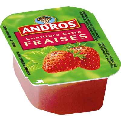 Confiture de fraise 20 g andros