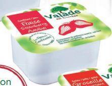 Confiture de fraise 30 g valade vendu a l unite