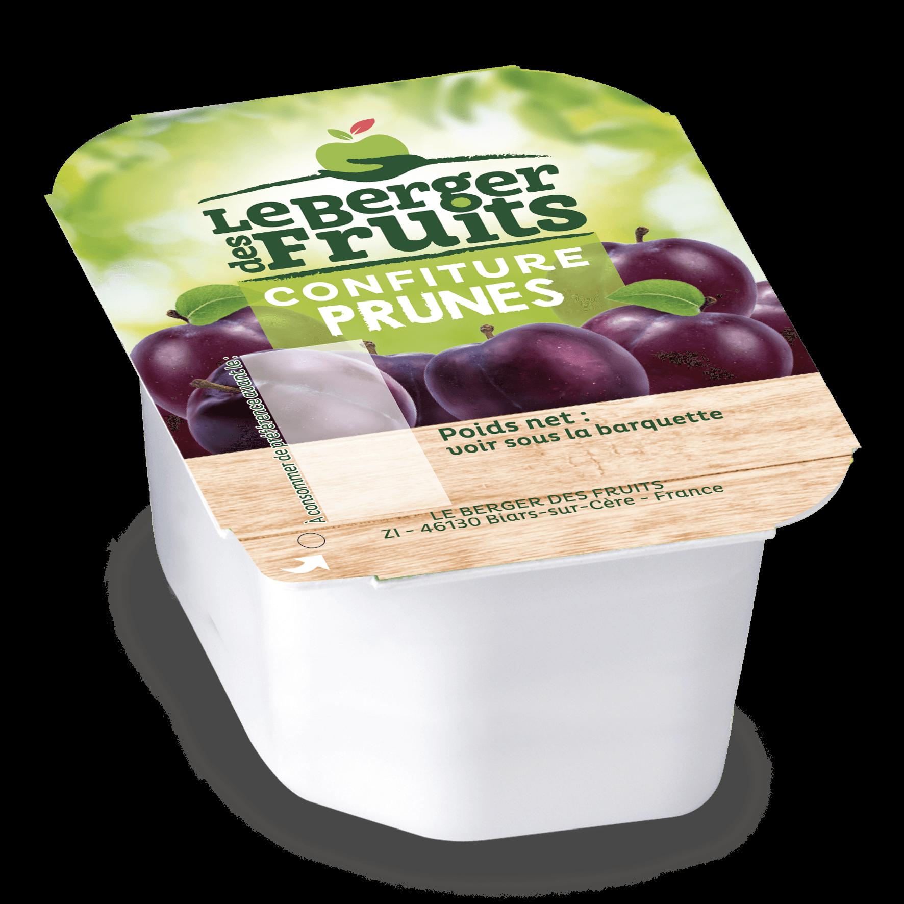 Confitures prune 30 g berger de fruits