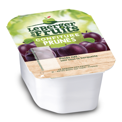 Confitures prune 30 g berger de fruits