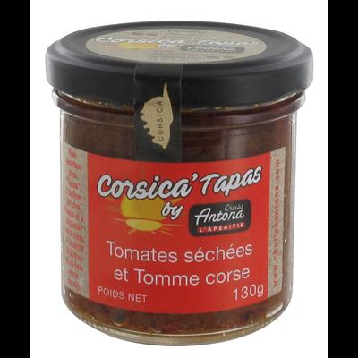 Corsica tapas tomates sechees et tomme charles antona 130 g 1