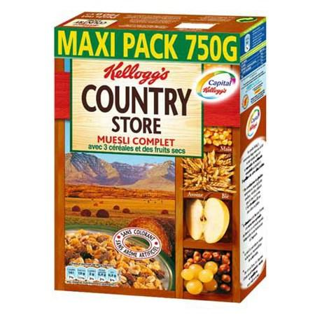 Country store kellogg s 750 g pour professionnels
