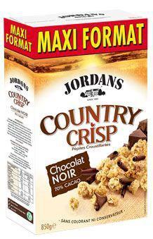 County crisp chocolat noir 850 g jordans pour professionnels