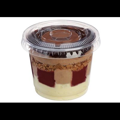 Coupe dessert jetable couvercle 200 ml vendu par 25