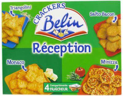 Crackers reception 380 g pour bureau