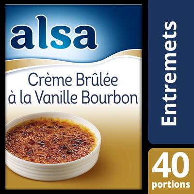 Creme brulee a la vanille bourbon 540 g 40 portions alsa