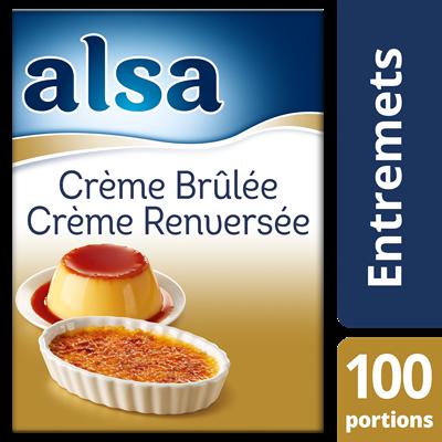 Creme brulee creme renversee 100 portions 1 35 kg alsa