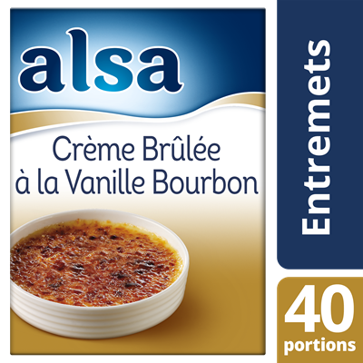 Creme brulee vanille bourbon 540 g alsa