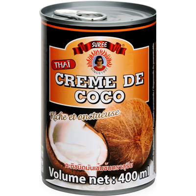 Creme de coco thai 400 ml suree 1