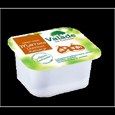Creme de marron vanillee bqt 30 g x 120 valade