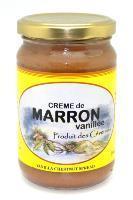 Creme de marron vanillee produits du terroir des cevennes
