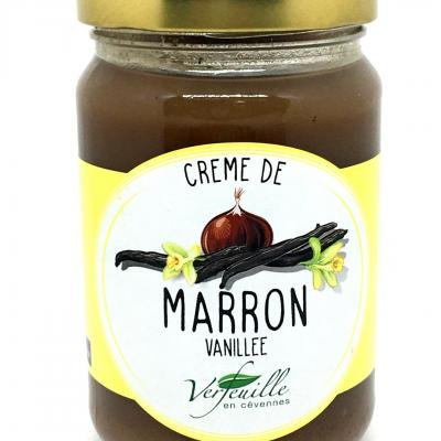 Creme de marrons vanillee 350g verfeuille cevennes
