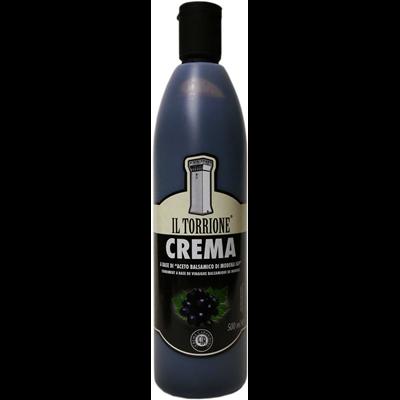 Creme de vinaigre balsamique noir il torrione 500 ml 2