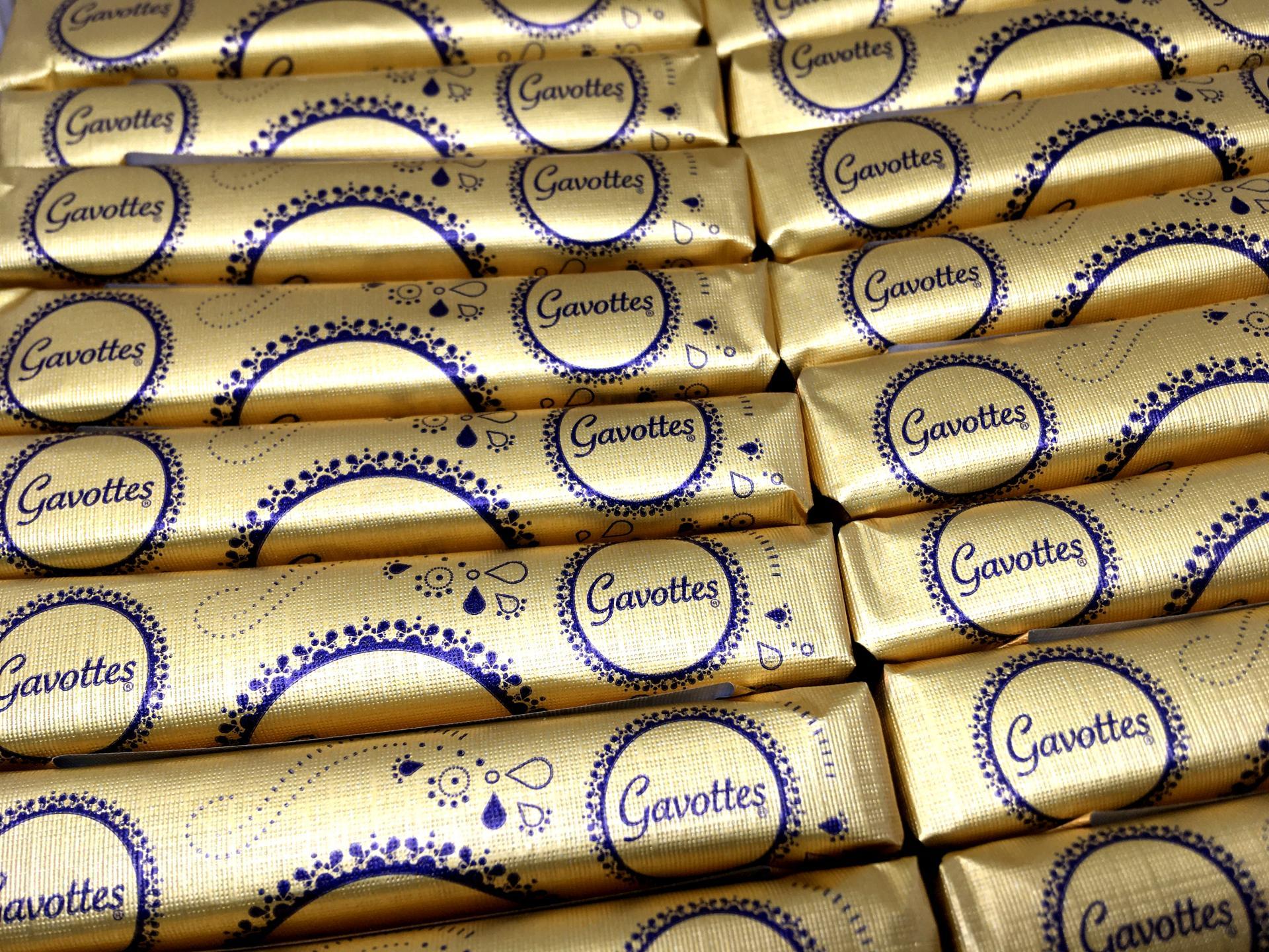 Crepes dentelles gavottes au beurre le lot de 20