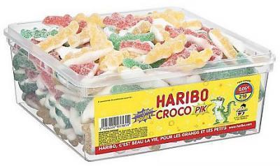 Croco pik 210 pieces haribo fourniture ccas comites d entreprise et professionnels