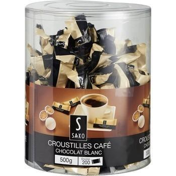 Croustilles cafe chocolat blanc x200
