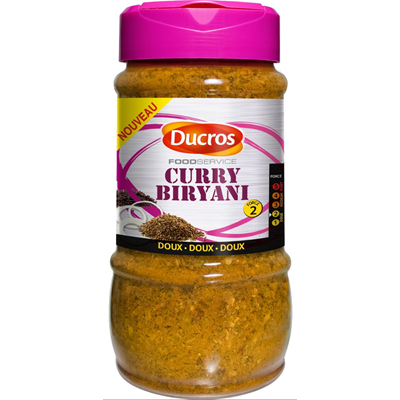 Curry biryani ducros pot 280 g
