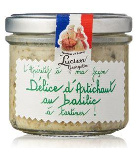 Delice d artichaut au basilic 100g georgelin