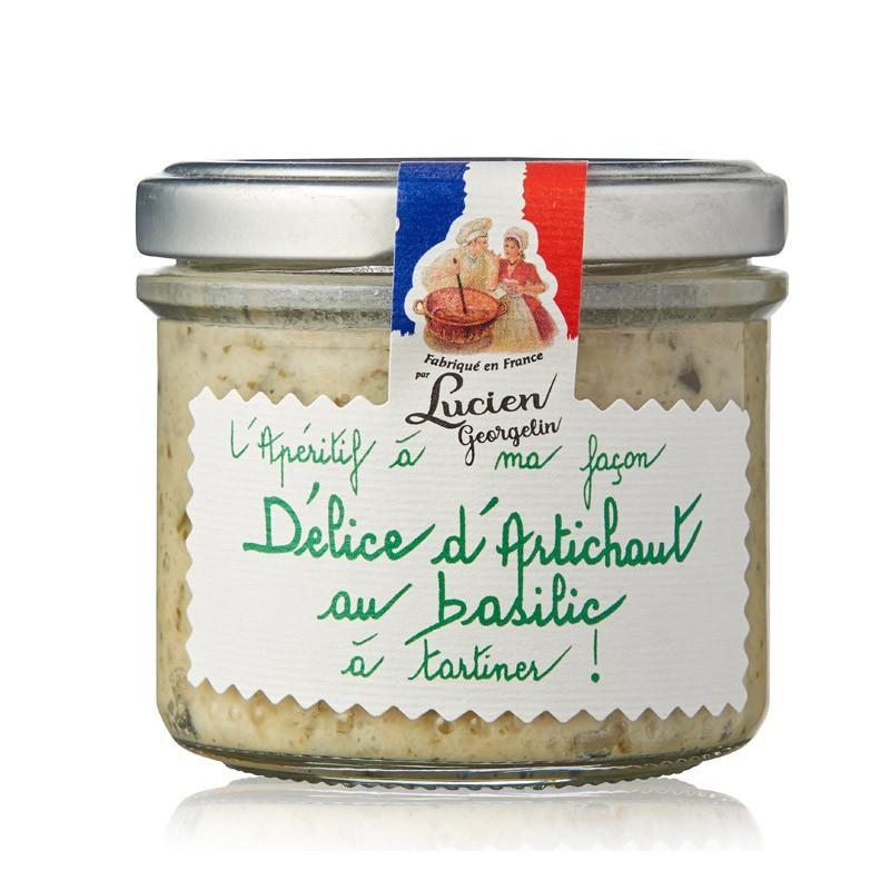 Delice d artichaut au basilic 100g