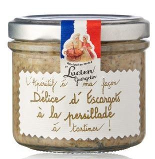 Delice d escargot en persillade 100g georgelin