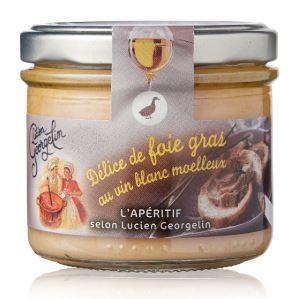 Delice de foie gras au vin blanc moelleux 100g georgelin