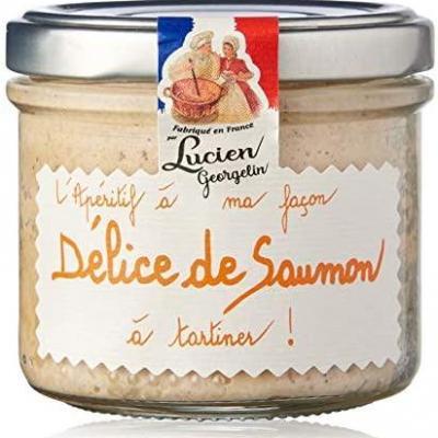 Delice de saumon 100g lucien georgelin