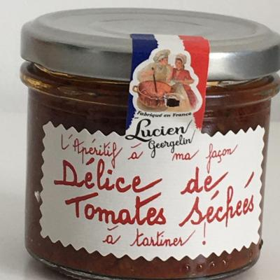 Delice de tomates sechees 100g lucien georgelin