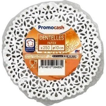 Dentelles papier diam 10 cm x250