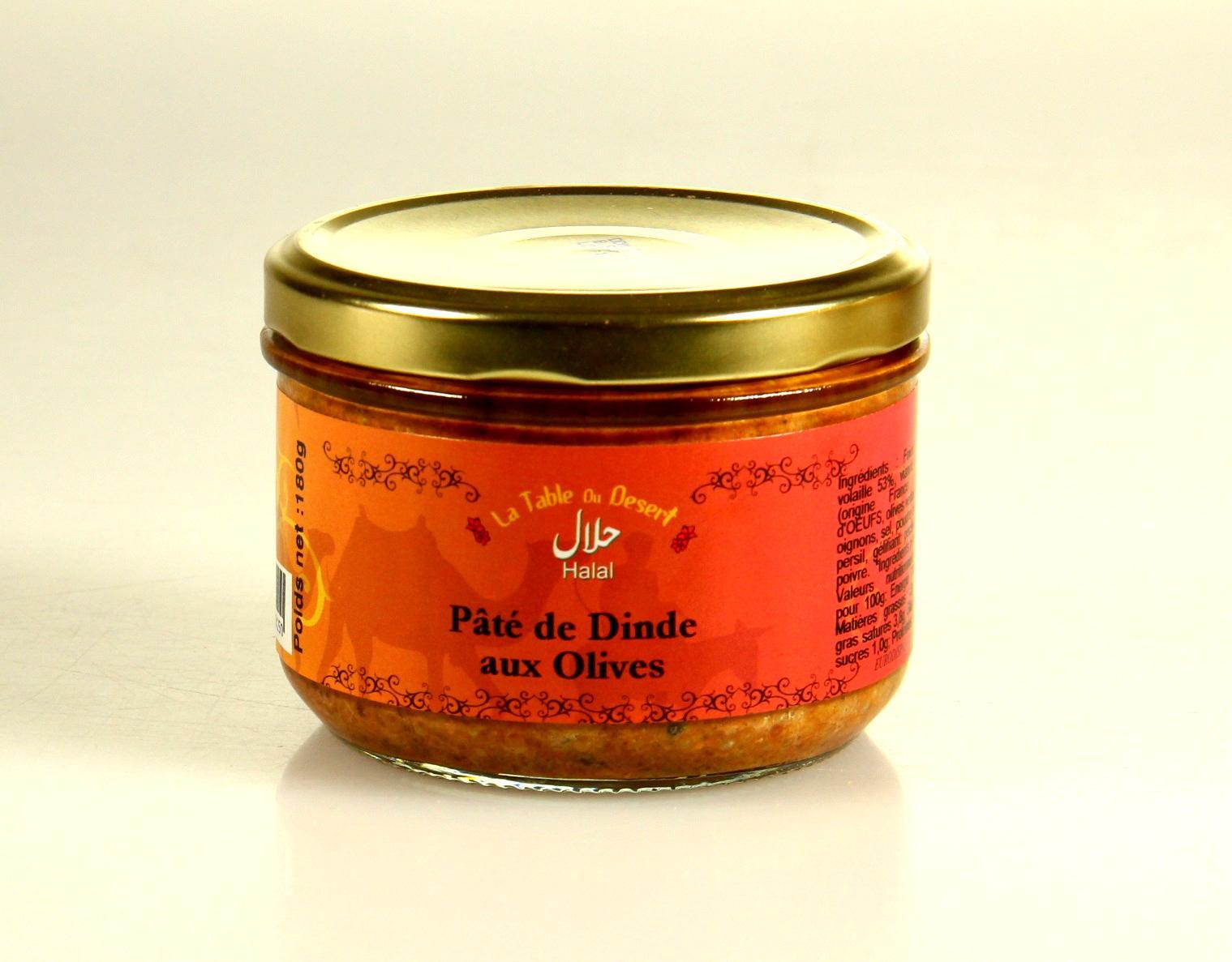 Dinde olives halal 1