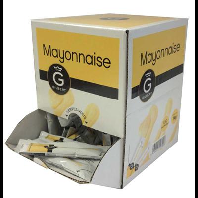 Dosettes de mayonnaise 10 g gilbert vendu a l unite