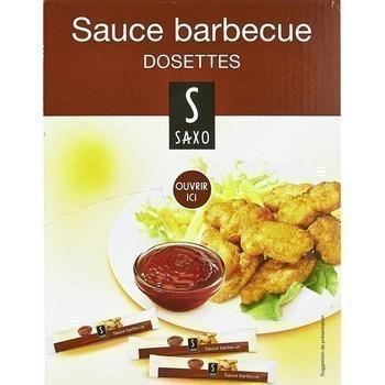 Dosettes de sauce barbecue 100x10 g