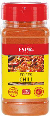Epices chili 200 g espig