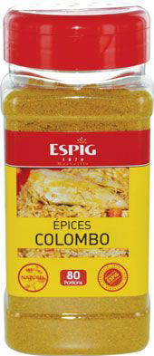 Epices colombo 220 g espig 1
