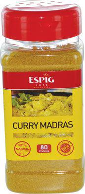 Epices curry madras 200 g espig
