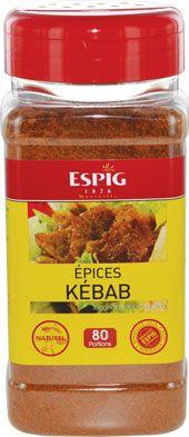 Epices kebab 240 g espig