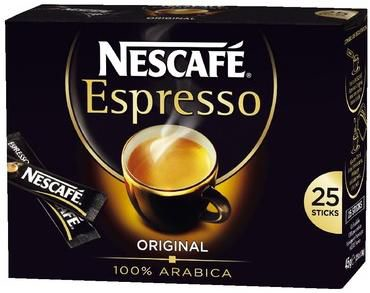 Espresso 25 sticks de 1 8 g nescafe