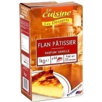 Flan patissier parfum vanille 1 kg environ 44 parts