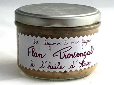 Flan provencal a l huile d olives 200g produits du terroir
