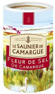 Fleur de sel 1 kg le saunier de camargue pour professionnels