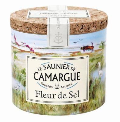 Fleur de sel de camargue 125 g pour professionnels