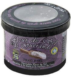Fleur de sel de guerande 125 g trad y sel 1