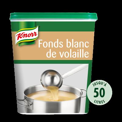 Fonds blanc de volaille deshydrate 750 g jusqu a 50 l knorr