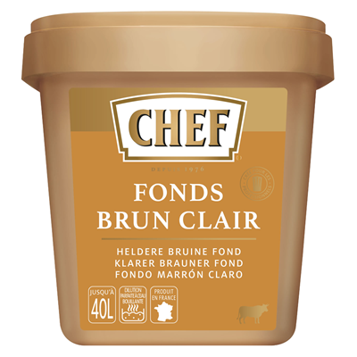 Fonds brun clair 800 g chef