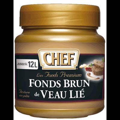 Fonds brun de veau lie premium 600 g chef